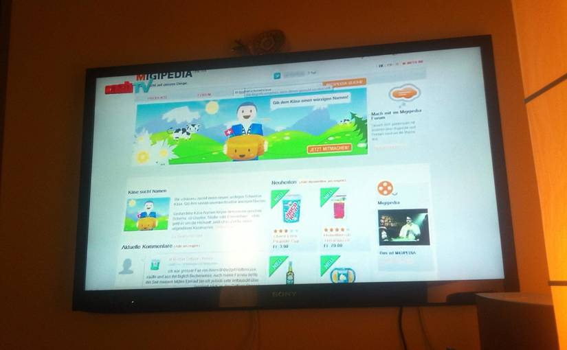 Migipedia im Cash TV